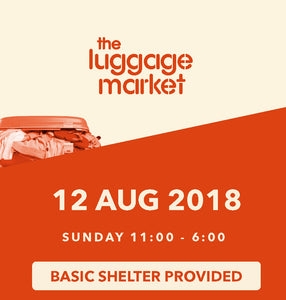 The Luggage Market Booth | 12 Aug 2018
