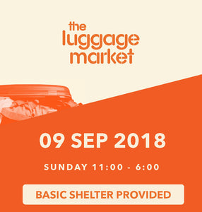The Luggage Market Booth | 9 Sep 2018