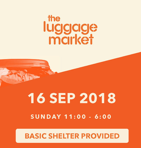 The Luggage Market Booth | 16 Sep 2018