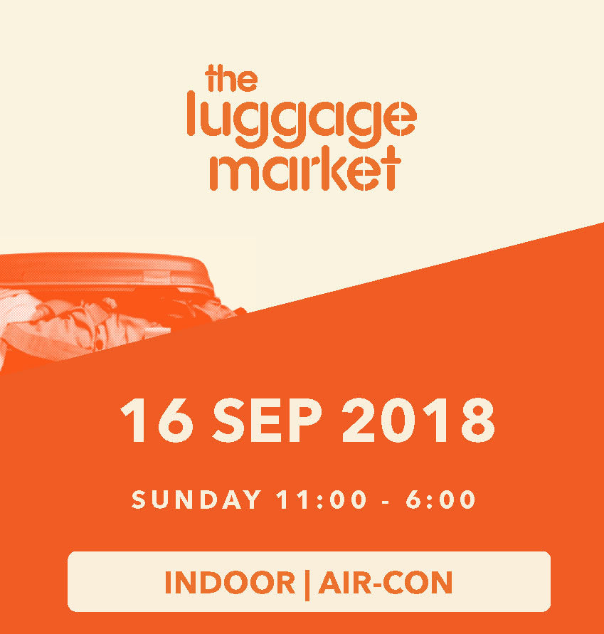 The Luggage Market Booth | 16 Sep 2018 (Indoor)