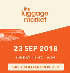 The Luggage Market Booth | 23 Sep 2018