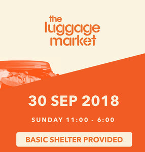 The Luggage Market Booth | 30 Sep 2018