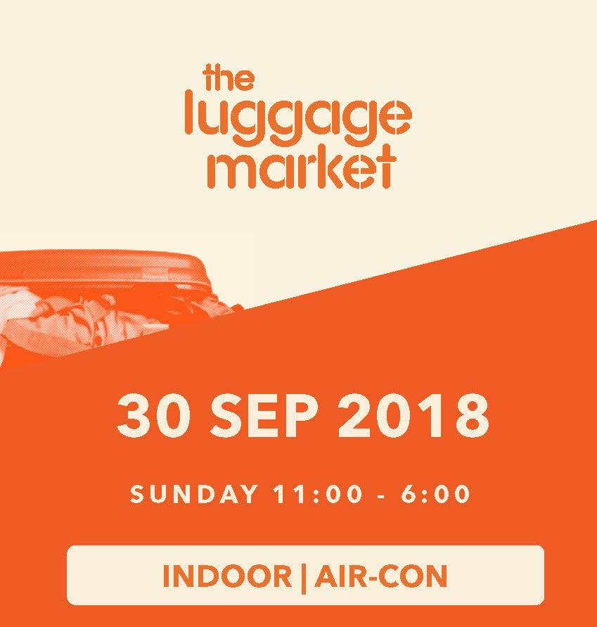 The Luggage Market Booth | 30 Sep 2018 (Indoor)