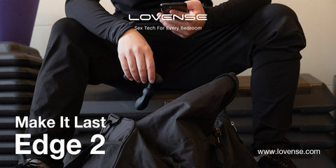 Lovense Edge 2 手機 智能 遙距 遙控 前列腺 會陰 震動器 App-controlled long-distance controlled Prostate Perineum Vibrator Massager