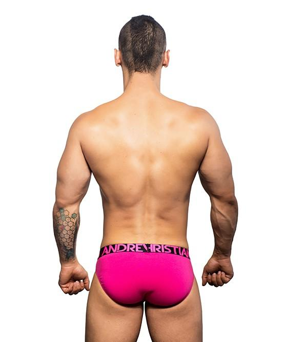 Andrew Christian Almost Naked Premium Brief Fuchsia Mens Underwear 男士 頂級 三角 底褲 紫紅色
