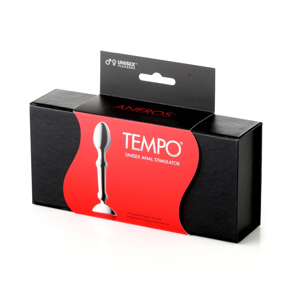 Aneros Tempo Stainless Steel Anal Butt Plug 不鏽鋼 後庭塞 肛塞 按摩棒