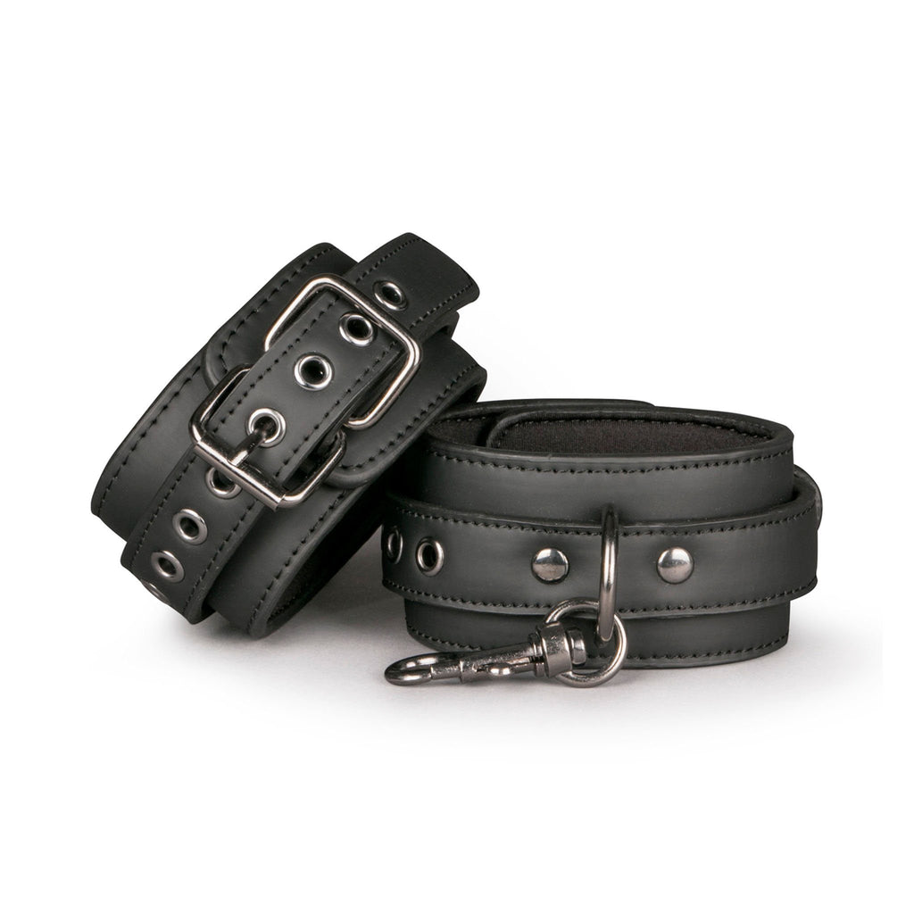 EasyToys Fetish Collection 仿皮 腳銬 綑綁 BDSM Faux Leather Ankle Cuffs Bondage