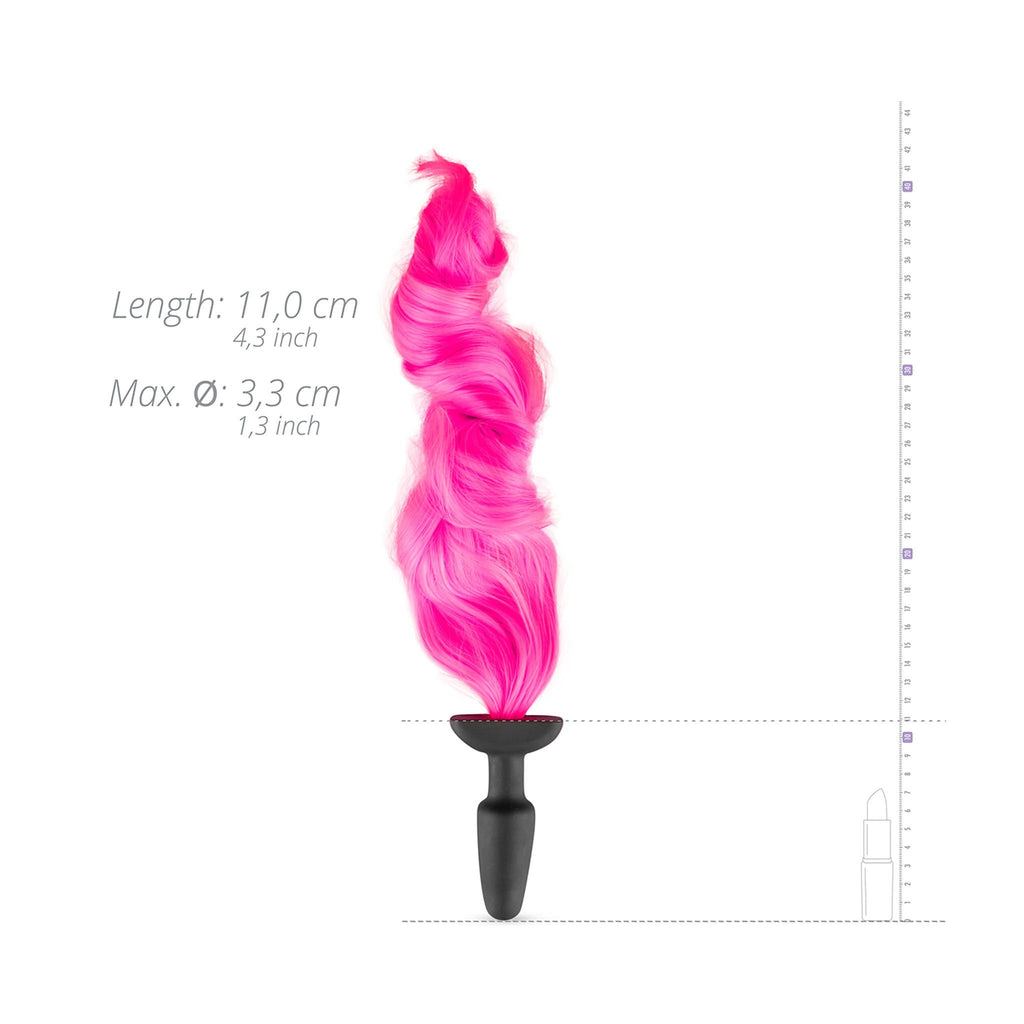 EasyToys Fetish Collection 小馬尾巴 後庭塞 粉紅 Pony Tail Butt Plug Pink