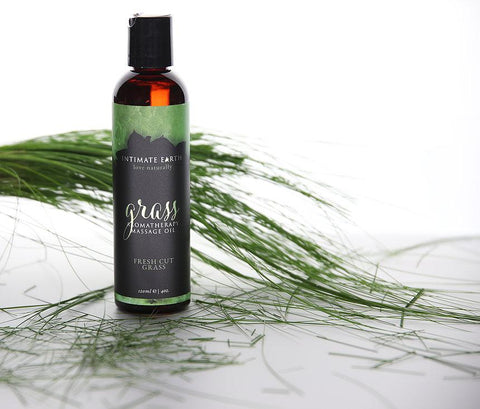 Intimate Earth Grass Aromatherapy Massage Oil Fresh Cut Grass 香薰 按摩油 清新 青草