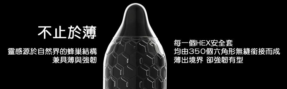 Lelo Hex Traction Condom 超貼 防脫 安全套