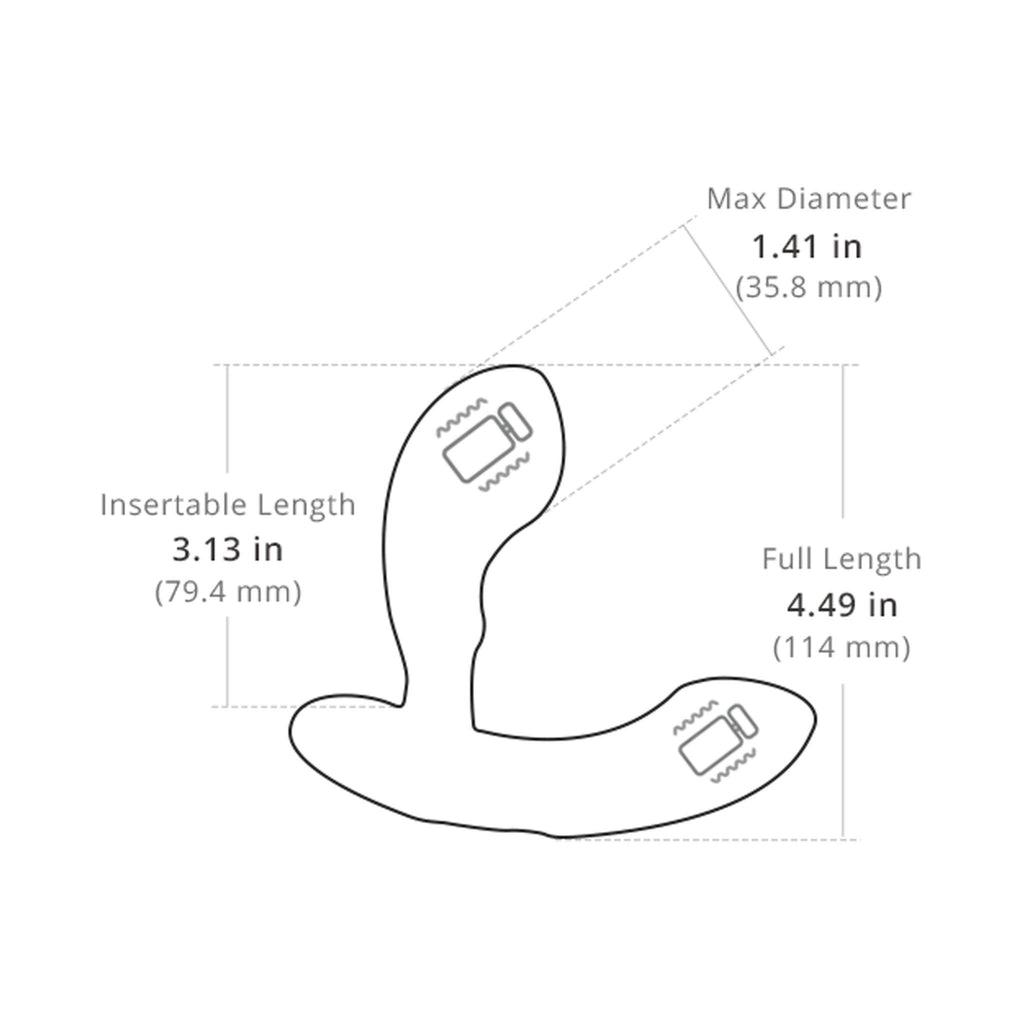 Lovense Edge App controlled Bluetooth Prostate Massager Anal Vibrator 手機 藍牙 遙控 前列腺 震動器 按摩器