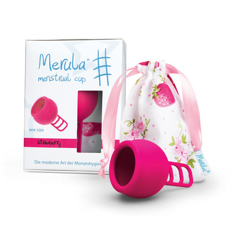 Merula Menstrual Cup Strawberry Pink 月經杯 草莓 粉紅色