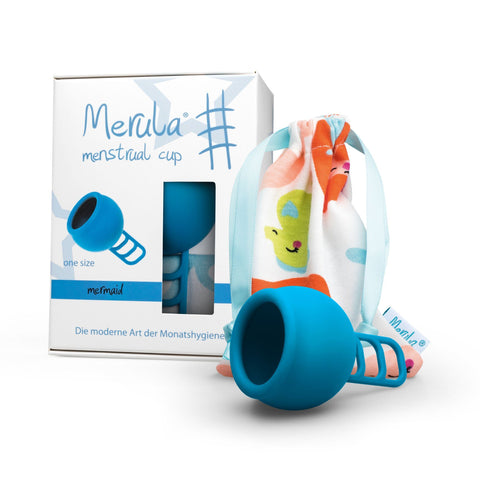 Merula Menstrual Cup Mermaid Blue 月經杯 海藍 藍色