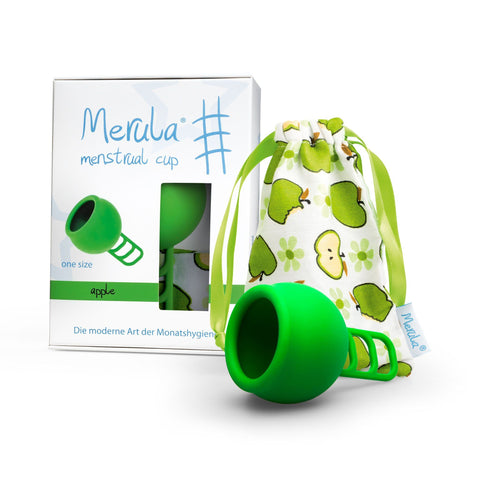 Merula Menstrual Cup Apple Green 月經杯 青蘋果 綠色