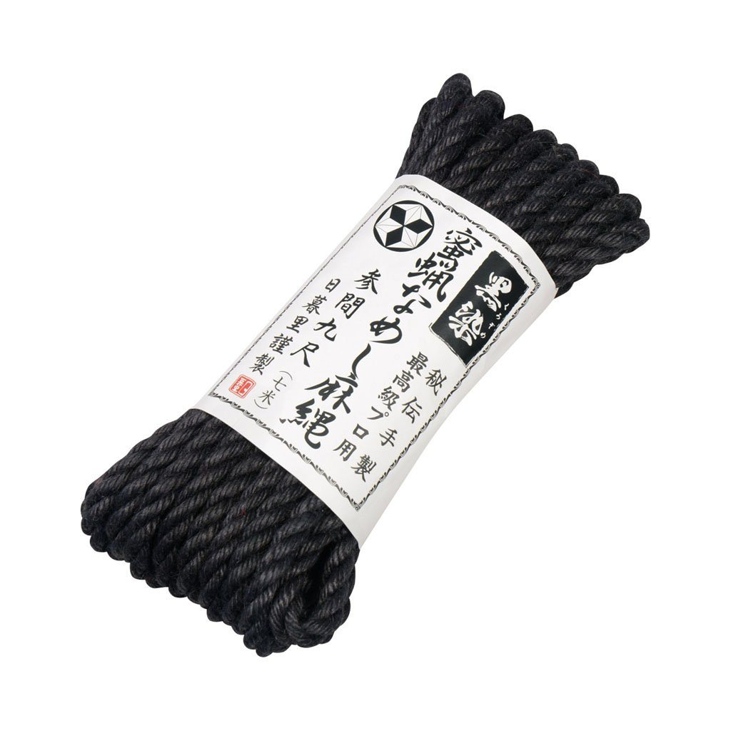 N.P.G Handwoven Beeswax Coated Shibari Jute Rope BDSM Sex Toy 手織 蜜蠟 水洗 麻繩 性玩具