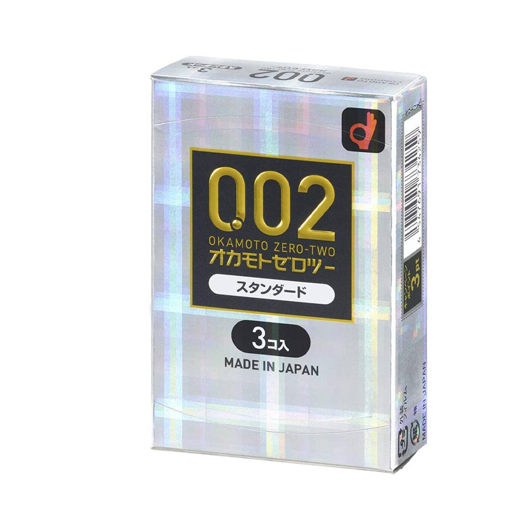 Okamoto Unified Thinness 0.02EX (Japan Edition) Condoms 岡本薄度均一 0.02EX(日本版)安全套