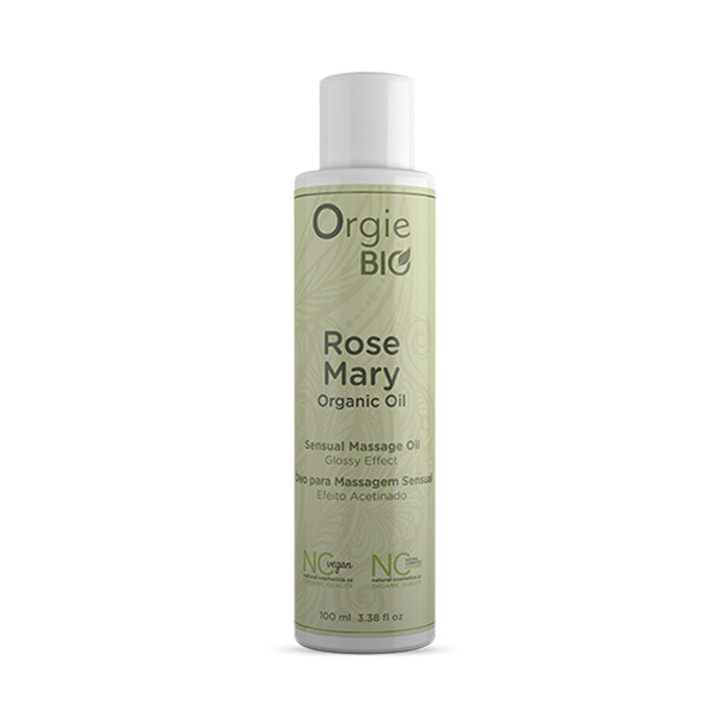 Orgie Bio Organic Sensual Massage Oil Rosemary 有機 天然 按摩油 西柚 迷迭香
