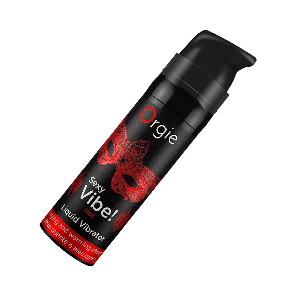 Orgie Sexy Vibe Hot Liquid Vibrator Arousal Stimulating Serum 熱感 刺激 私處 高潮 精華