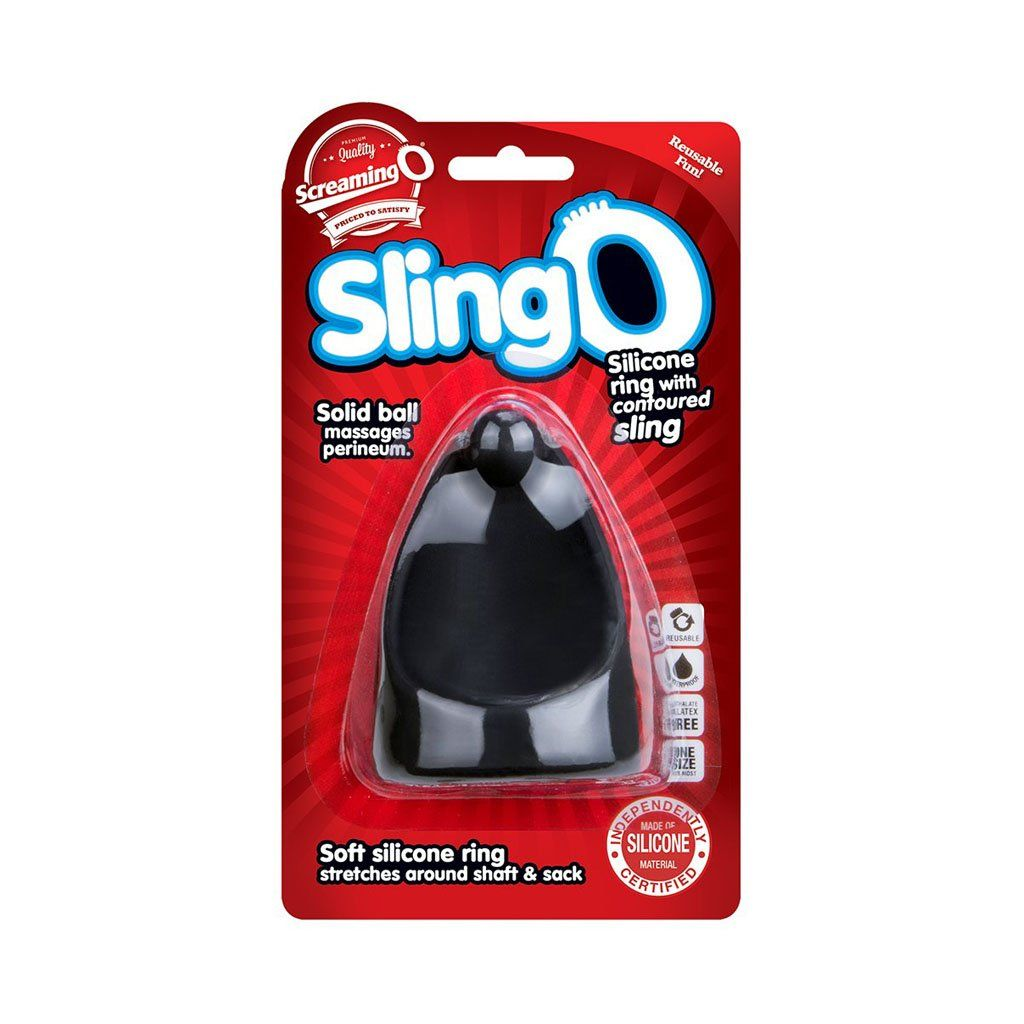 Screaming O SwingO Sling 會陰 按摩 矽膠 持久環 鎖精環 Silicone Perineum Cock Ring