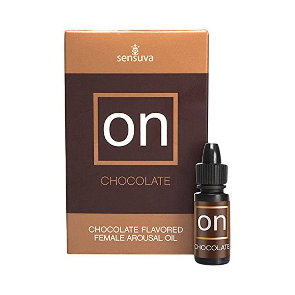 Sensuva ON Chocolate Chocolate Flavored Female Clitoral Arousal Oil 朱古力味 可食用 陰蒂 刺激 高潮 精油