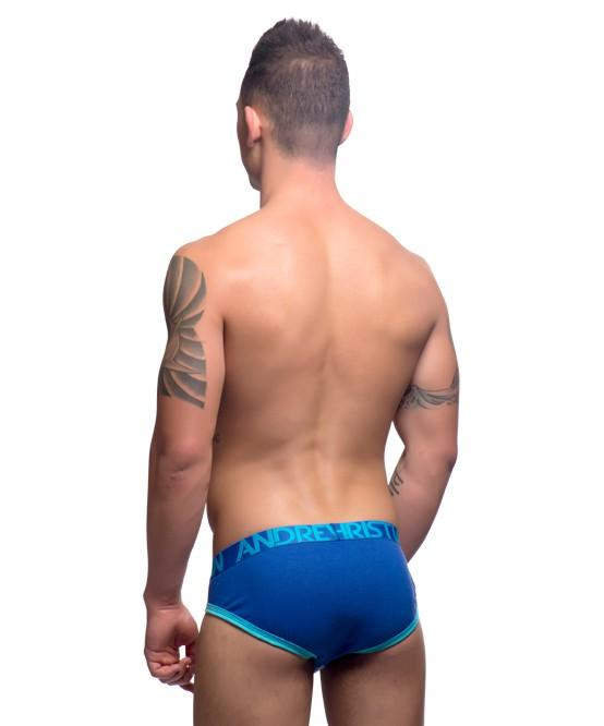 Andrew Christian Show-It Tagless Brief Blue Mens Underwear 男士 三角 底褲 藍色