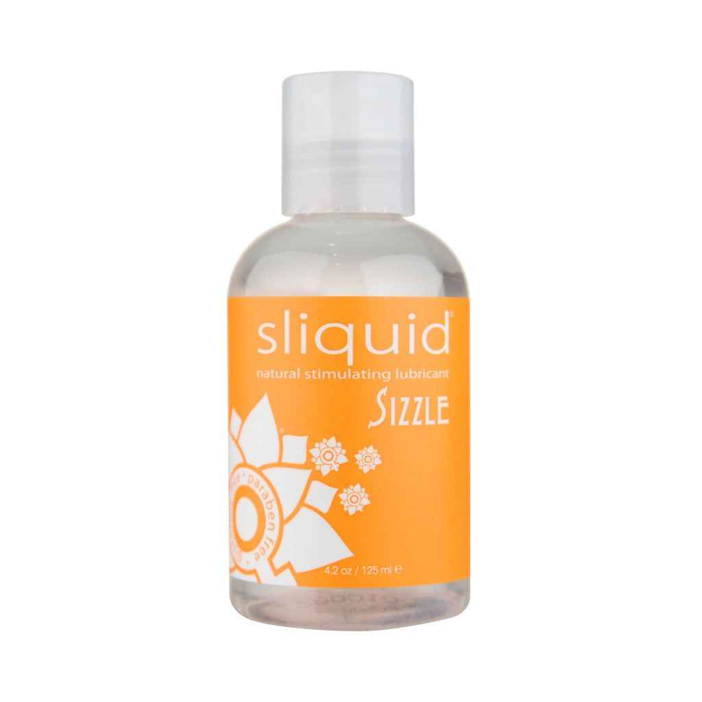 Sliquid Naturals Sizzle Stimulating Water-Based Lubricant 涼感 暖感 水性 刺激 潤滑液