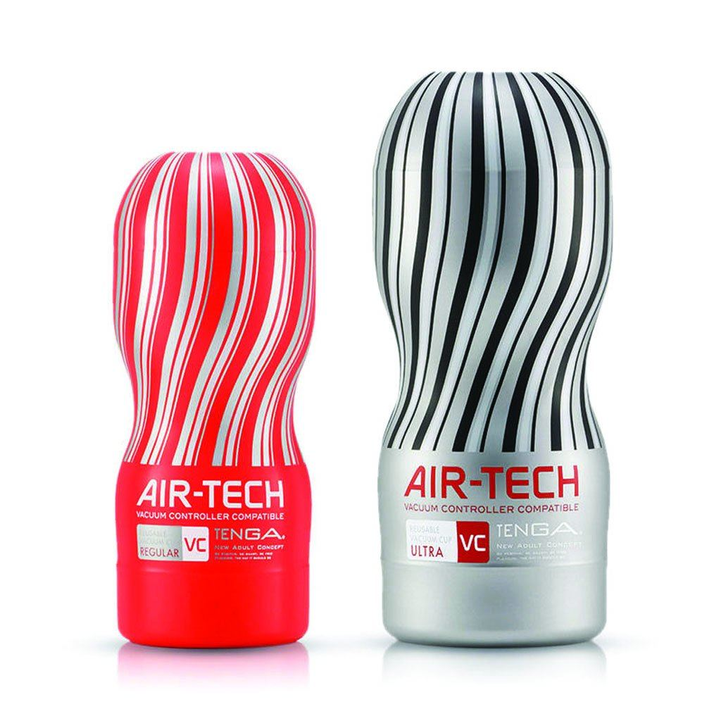 Tenga Air-Tech VC Ultra Vacuum Controller Set Masturbation Cup Sex Toy 超級 VC型 真空 電動 控制器 飛機杯 自慰杯 套裝 性玩具