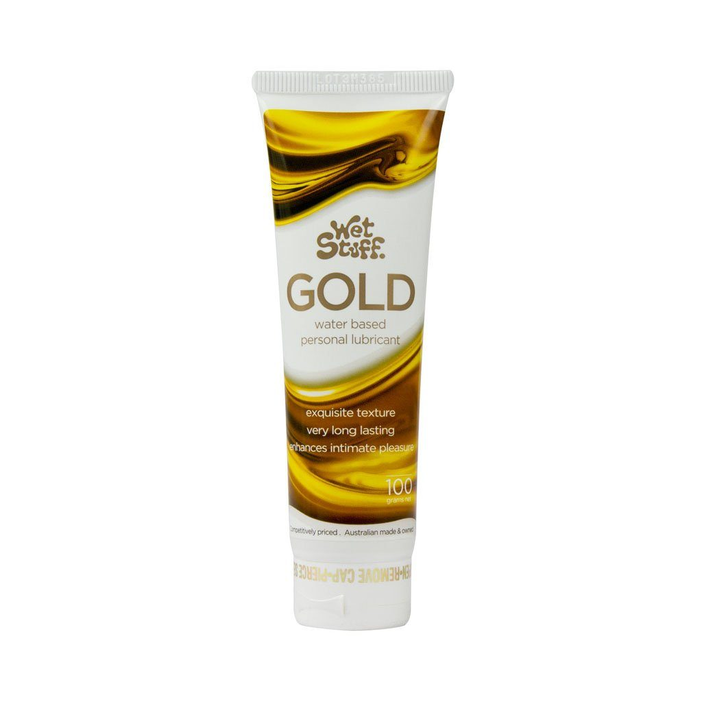 Wet Stuff Gold Water-based Personal Lubricant 特濃 持久 水性 潤滑液