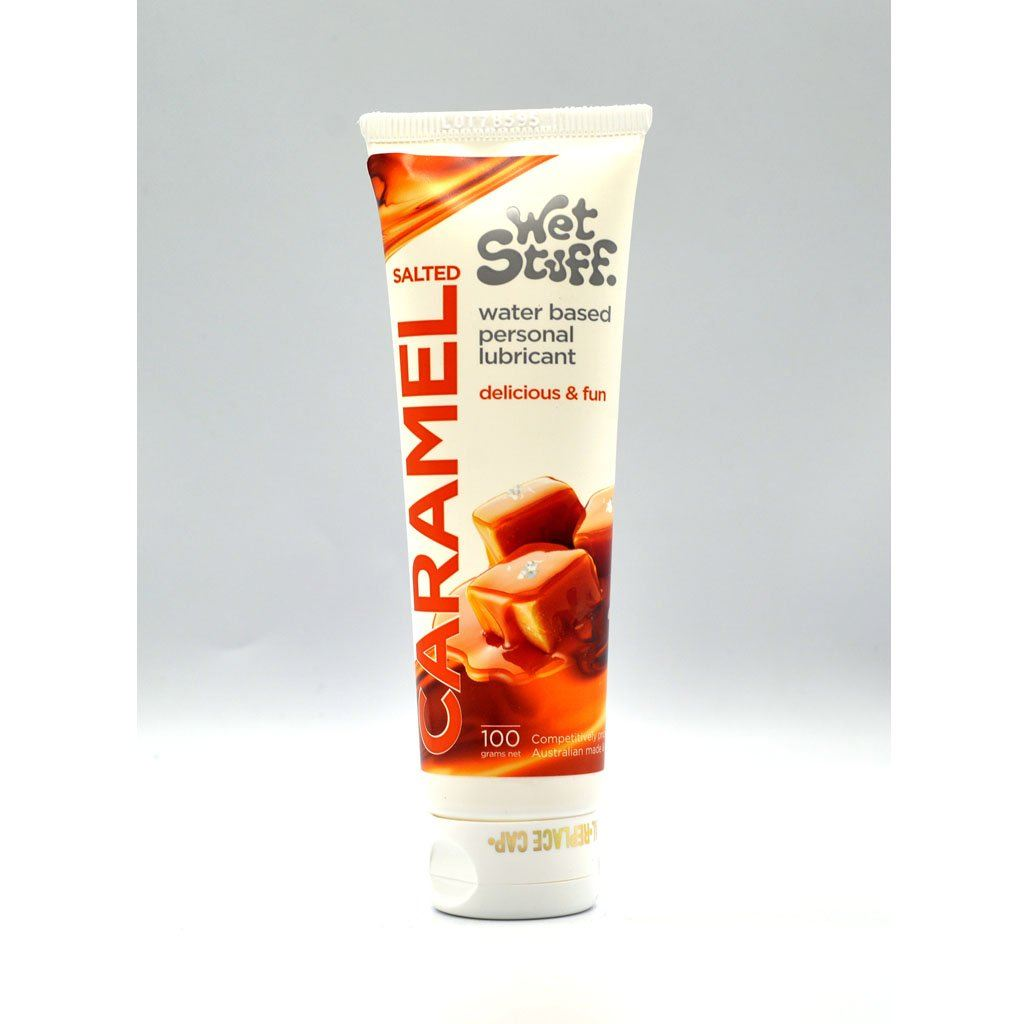 Wet Stuff Salted Caramel Flavored Water-based Oral Play Personal Lubricant 焦糖 水性 口角 潤滑液