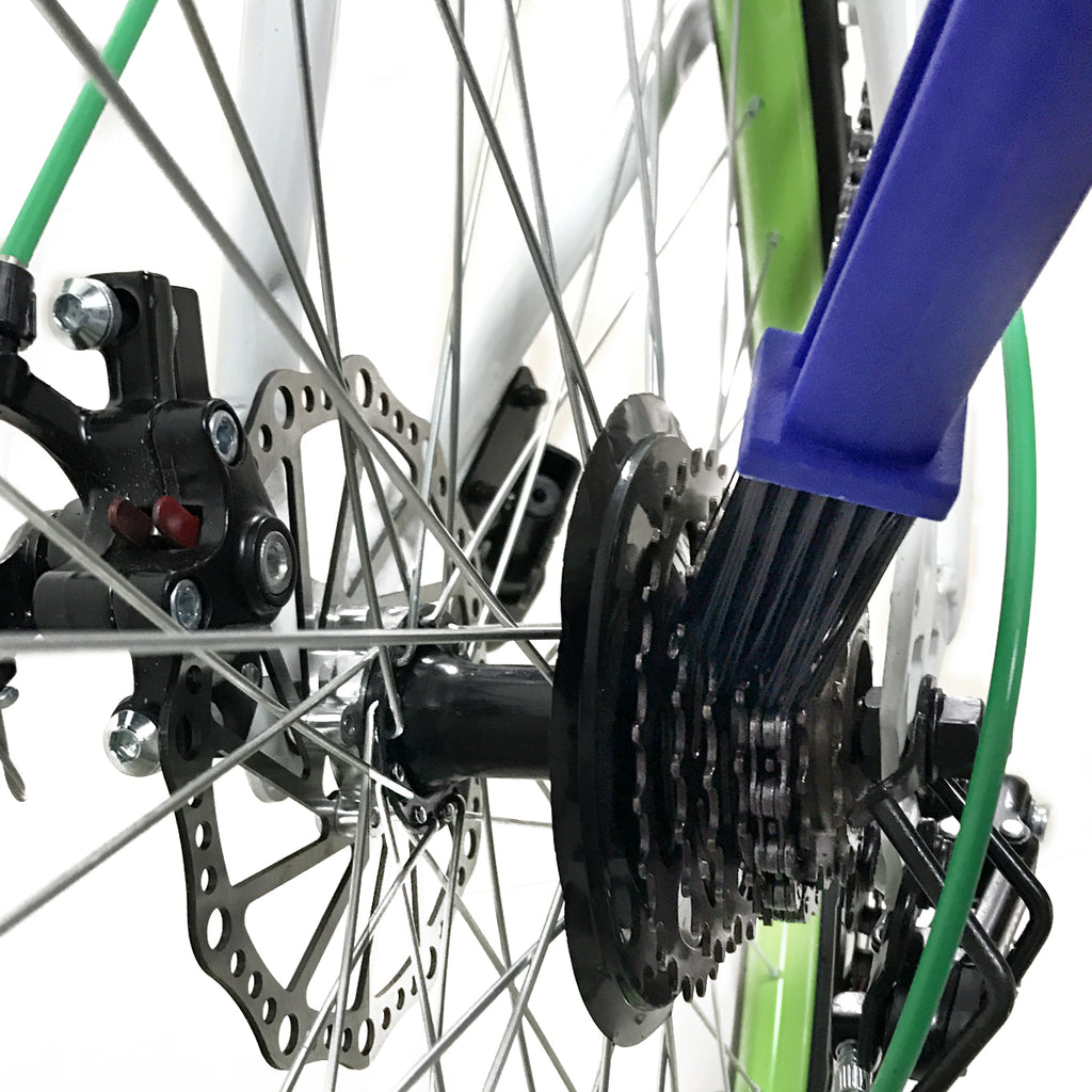 Low Price Bicycle Chain Clean Brush 2 in 1 Cleaner Scrubber Crankset Brush Tool Plastic