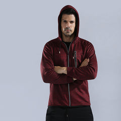 LIE XING Men's Gym Fashion Hoodies Fitness Sportswear 4 Colors