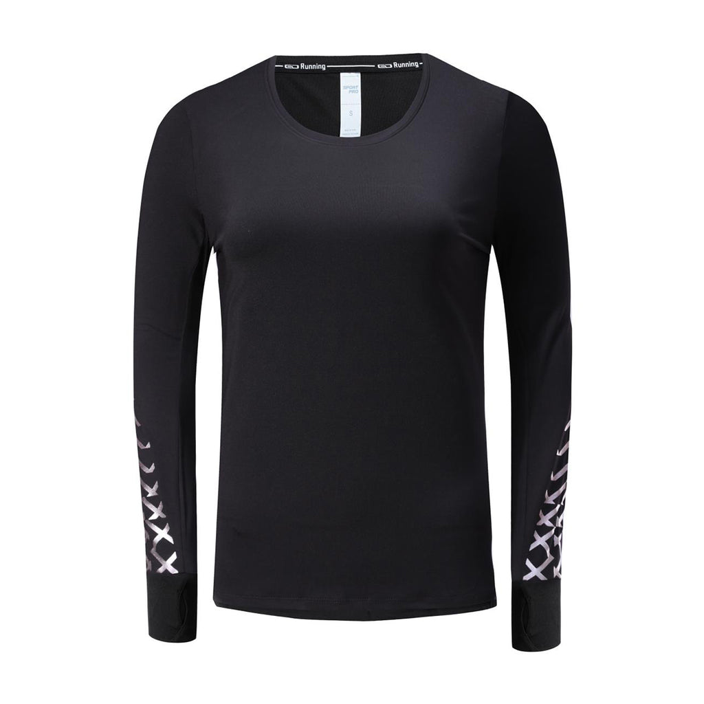 0330f3c1fb49a Barbok Women s Workout Long Sleeve T Shirt Dry Fit Running Top ...