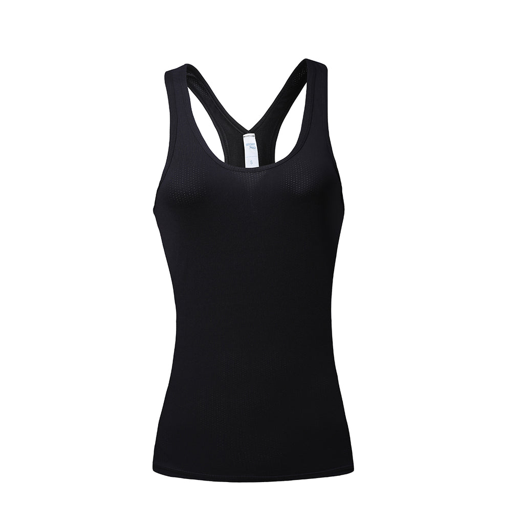 Barbok Women's Workout Yoga T-shirts Compression Dry Fit Tank Top