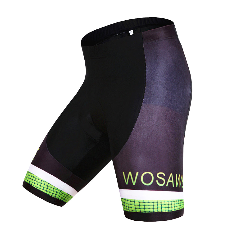 WOSAWE Men's Bicycle Padded Shorts MTB Cycling Wear
