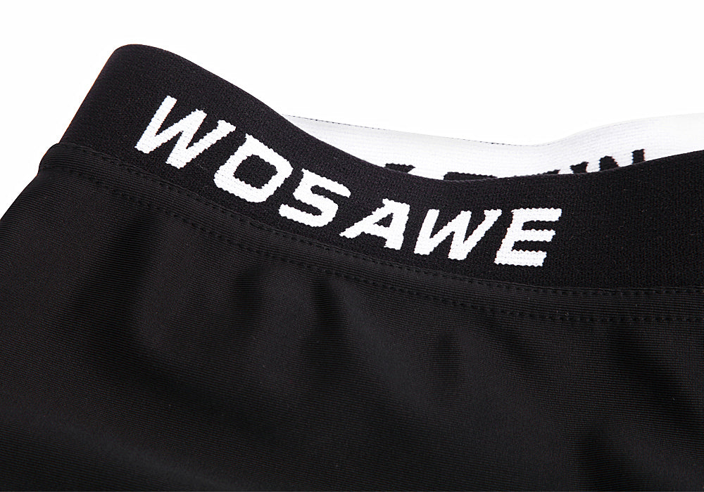Wosawe Outdoor Cycling Shorts Bicycle Silicone Pad Reversible Cycling Underwear