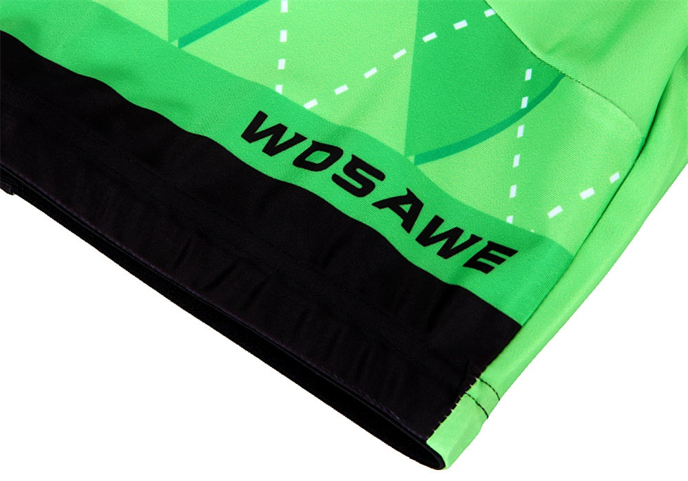 WOSAWE Gel Padded Cycling Shorts Shockproof MTB Bicycle Shorts