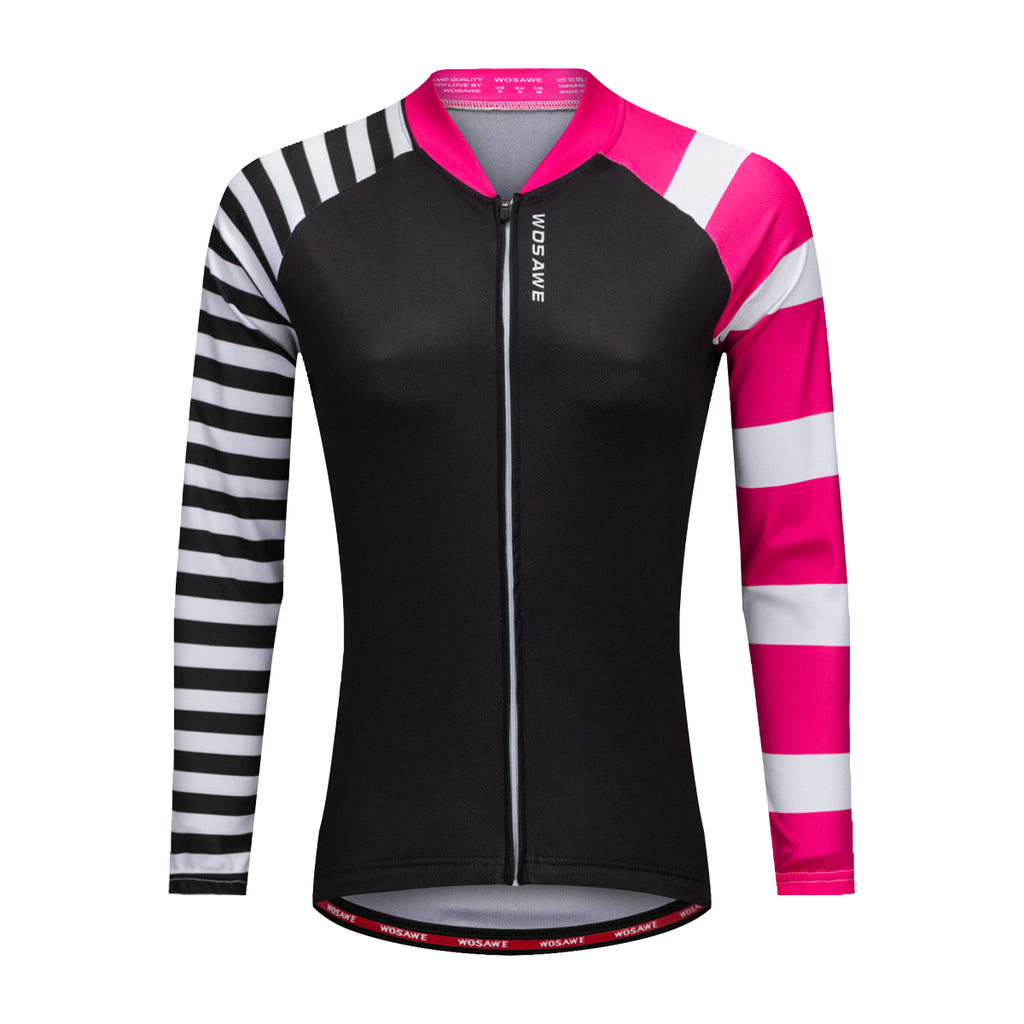 Wosawe Women s Style Cycling Quick Dry Road Bike Riding Jersey ... cac19cef1