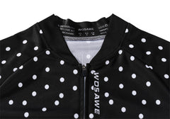 WOSAWE Lady Road Cycling Jersey Long Sleeve Bicycle Shirt