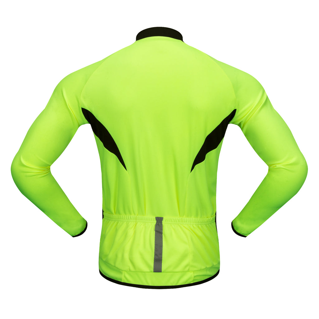 Wosawe Cycling Shirt Long Sleeves Keep Cool Mountain Bike Riding Suit