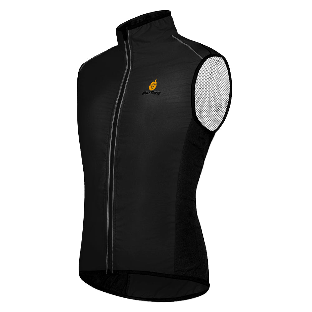 Wosawe Cycling sleeveless cycling suit cycling vest outdoor windbreaker