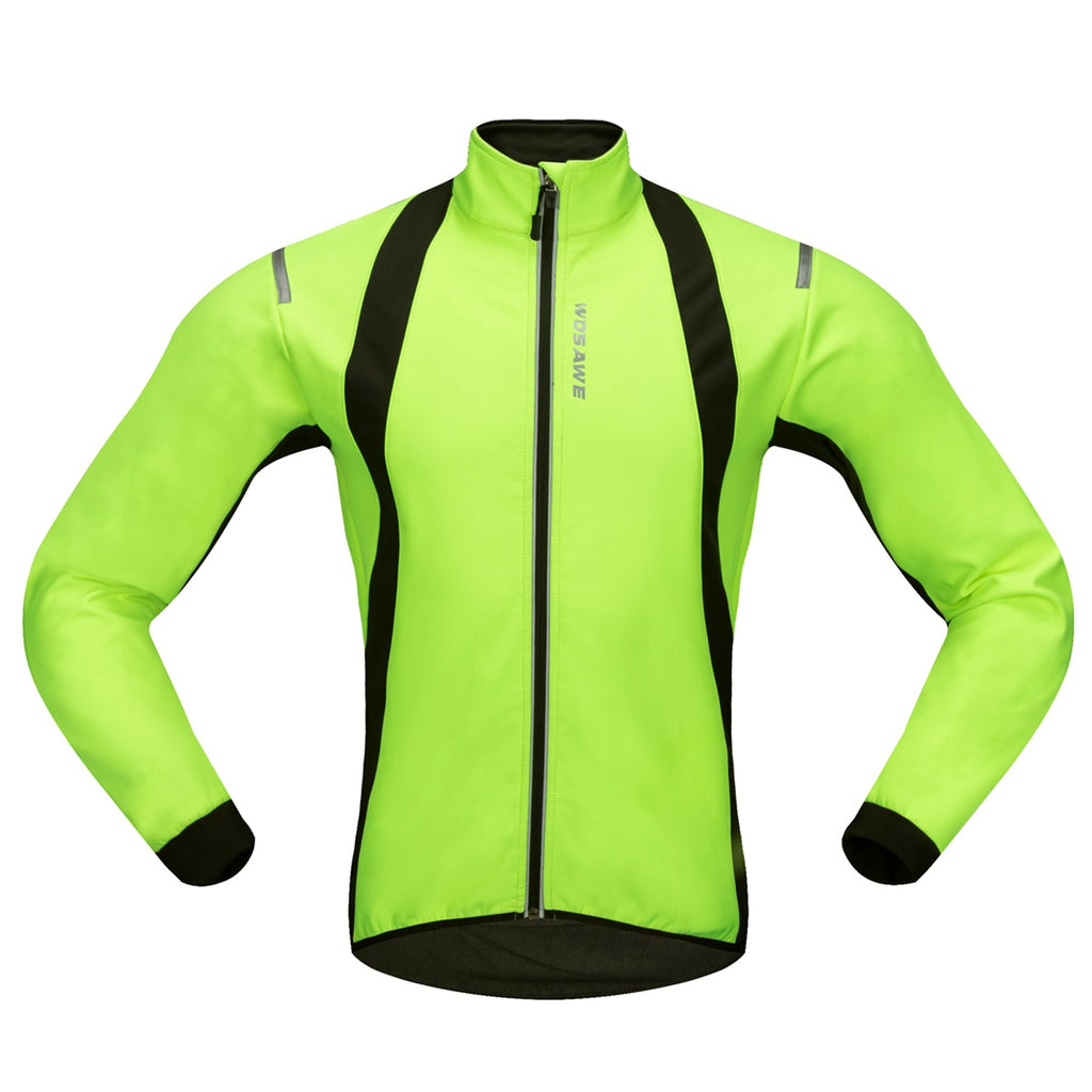 WOSAWE Men's Breathable Fleece Winter Cycling Jacket