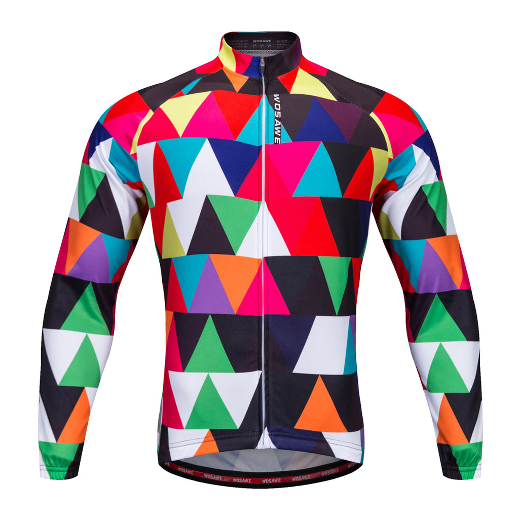 Wosawe Multi-color Mountain Bike Cycling Wear Long-sleeve Shirt Cycling Wear