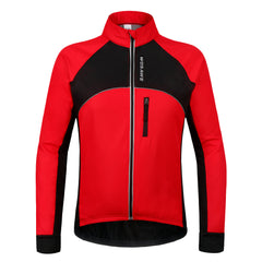 Wosawe Mens Winter Thermal Fleece Cycling Jackets