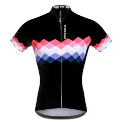 WOSAWE Women Summer Cycling Short Sleeve Jersey with Mini Skirt Ropa Ciclismo Breathable Riding Sets