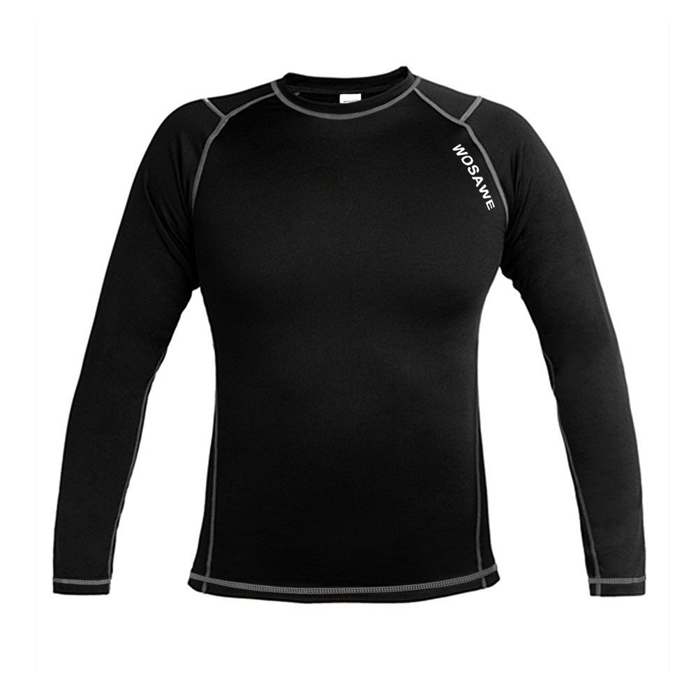 WOSAWE Cycling Thermal Light weight Base Layer Top Quick Drying