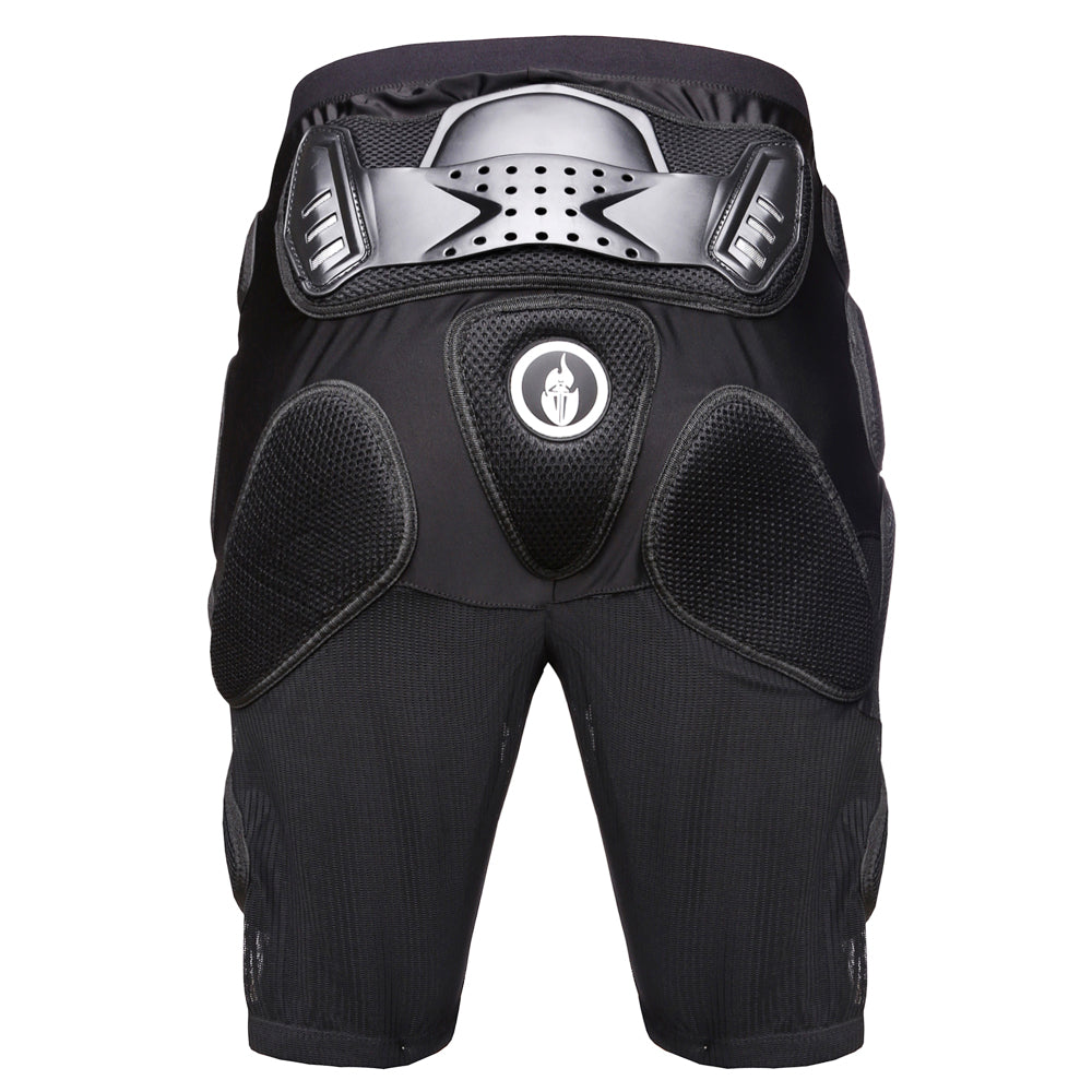 Bicycle Motorcycle Hip Protector Armored Shorts MTB Bike Pants Protect L