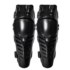 Wolfbike Adjustable Long Leg Sleeve Protective Knee Shin Guards for Motorcycle Cycling -1 Pair