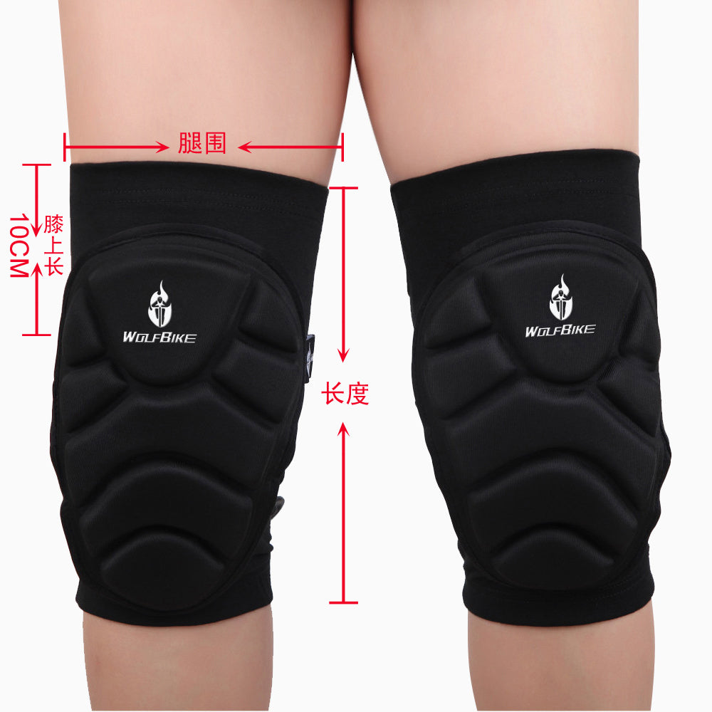 WOSAWE 1 Pair Kneepad for Skiing Goalkeeper Soccer Football Volleyball Extreme Sports