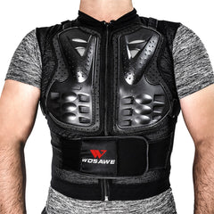 WOSAWE Motocross Chest Protector & Back Spine Protection Body Armor