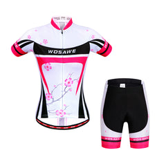 WOSAWE Cycling Jersey Sets Roupa Ciclismo Bicycle Mtb Clothes for Women